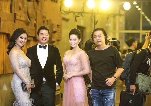 Vợ chồng nghệ sĩ Đăng Dương, Lương Nguyệt Anh và đạo diễn Hoàng Trọng Thanh.