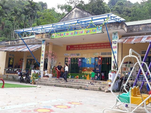 Nhiều năm liền, trường Mẫu giáo Trà Phong chật vật tìm cán bộ quản lý cấp phó