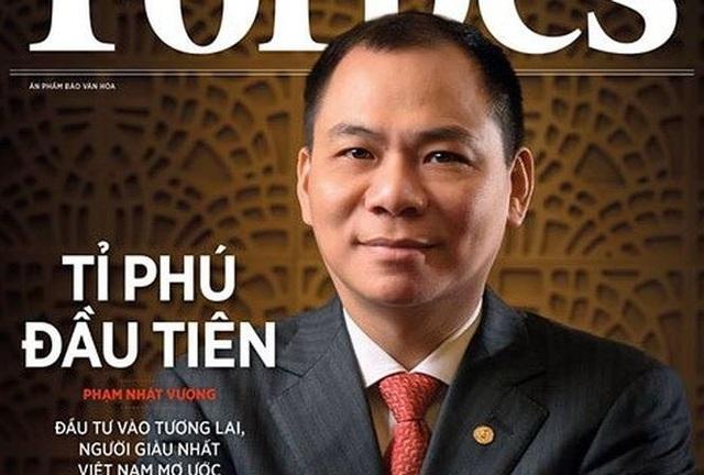 Vị tỷ phú đôla đầu tiên của Việt Nam đã tăng mạnh tài sản trong thời gian ngắn
