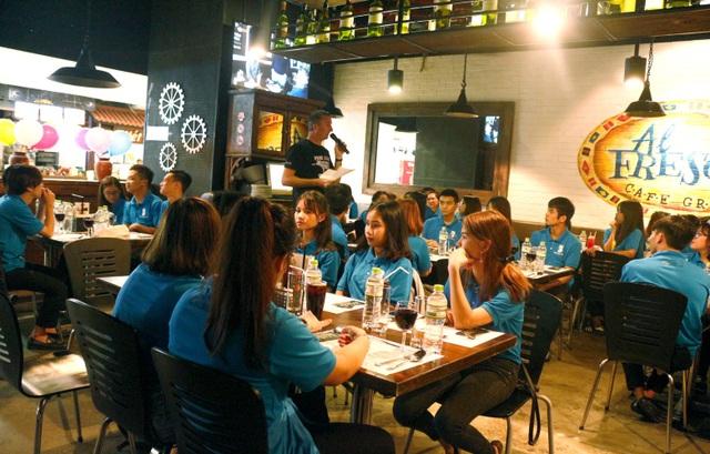 Các học viên Business One được trải nghiệm nền ẩm thực Italy.