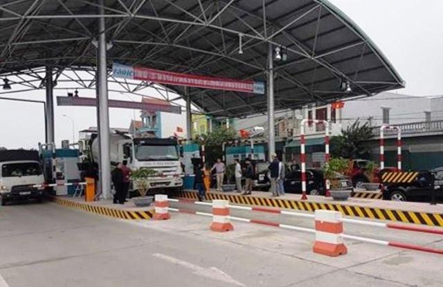 Trạm thu phí BOT Thanh Nê, huyện Thái Thụy
