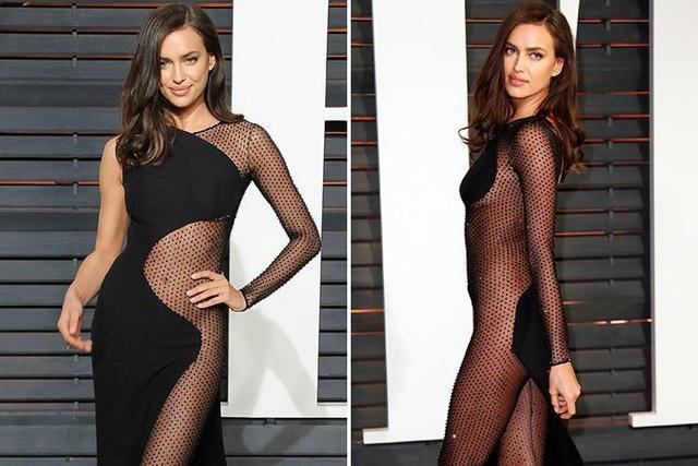 Người mẫu Nga Irina Shayk (32 tuổi) xuất hiện tại một bữa tiệc tổ chức bên lề lễ trao giải Oscar hồi năm 2015.