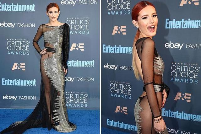 Nữ diễn viên Hollywood - Bella Thorne (20 tuổi) trong một sự kiện vừa diễn ra hồi tháng trước.