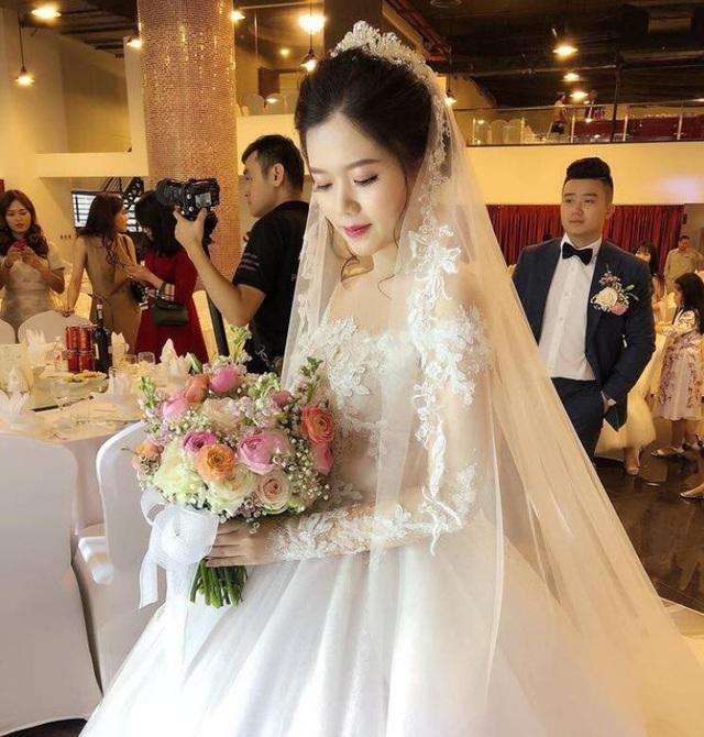 Hình ảnh cô dâu và chú rể trong đám cưới.