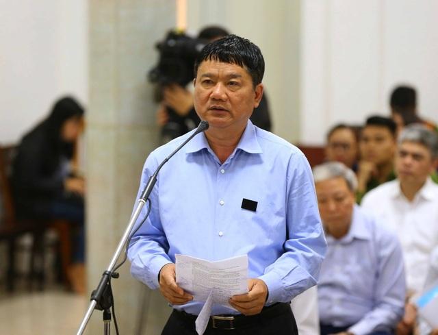 Ông Đinh La Thăng nói lời sau cùng chiều 24/3.