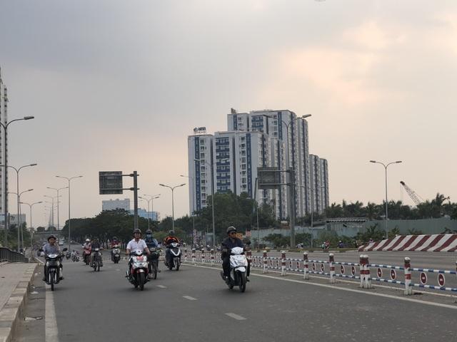Chung cư Carina Plaza nằm ngay trên trục đường Võ Văn Kiệt