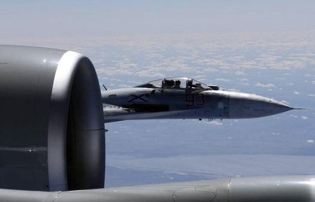 Nga quan ngại về sự hiện diện của các máy bay quân sự NATO gần biên giới. (Ảnh minh họa: TASS)