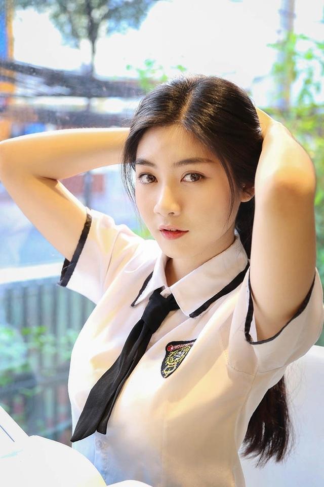 Miss Teen Nam Phương đẹp rạng ngời trong bộ ảnh nữ sinh - 7