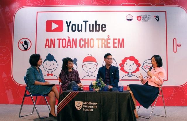 """Các chuyên gia tham gia thảo luận về chủ đề """"Youtube an toàn cho trẻ"""""""
