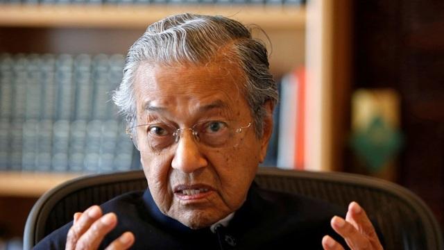 Cựu Thủ tướng Malaysia Mahathir Mohamad (Ảnh: Reuters)
