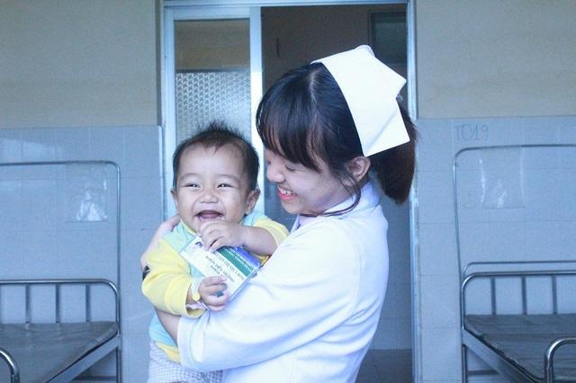 Một buổi học lâm sàng tại Bệnh viện đa khoa tỉnh Lâm Đồng.