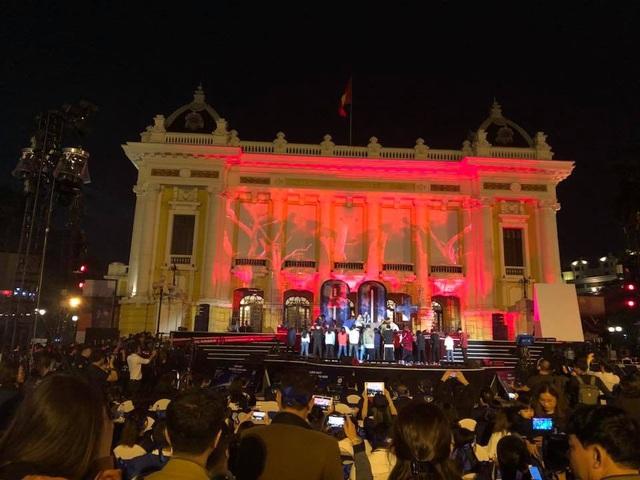 Đông đảo người dân Hà Nội đã đến dự sự kiện