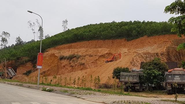 """""""Đất tặc"""" rầm rộ hoành hành ngay cạnh Khu di tích quốc gia Truông Bồn? - 5"""