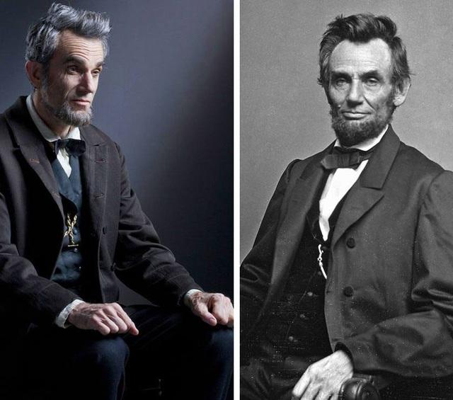 """Tài tử Daniel Day-Lewis vào vai cố Tổng thống Mỹ Abraham Lincoln trong """"Lincoln"""" (2012)."""
