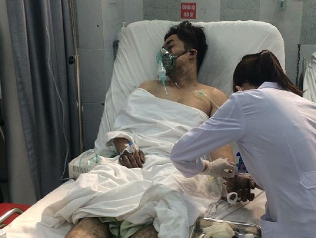 Có 99 nạn nhân trong vụ cháy được ứng cứu đưa đến các bệnh viện trên địa bàn thành phố