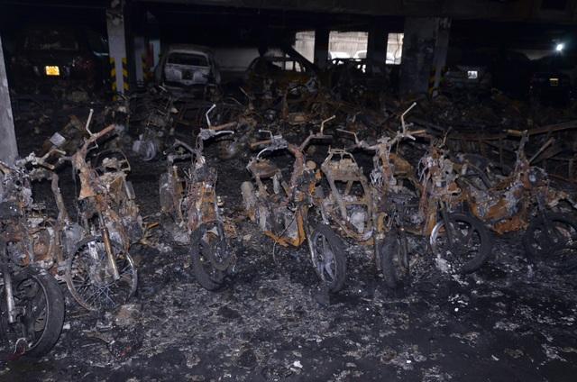 Nguyên nhân vụ cháy được xác định là xuất phát từ một chiếc xe gắn máy