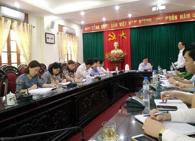 Chính quyền huyện Hoa Lư (Ninh Bình) họp lên phương án tháo dỡ, cưỡng chế công trình khủng xây dựng trái phép trong vùng lõi di sản thế giới Tràng An.