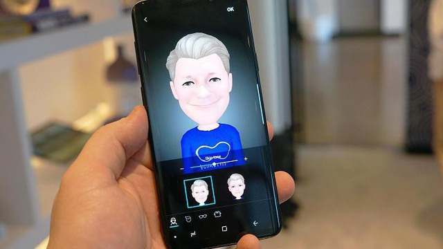 AR Emoji trên Samsung Galaxy S9/S9+