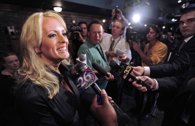 Cô Stormy Daniels từng tranh cử vào vị trí thống đốc bang Louisiana hồi năm 2009 (Ảnh: The Advocate)
