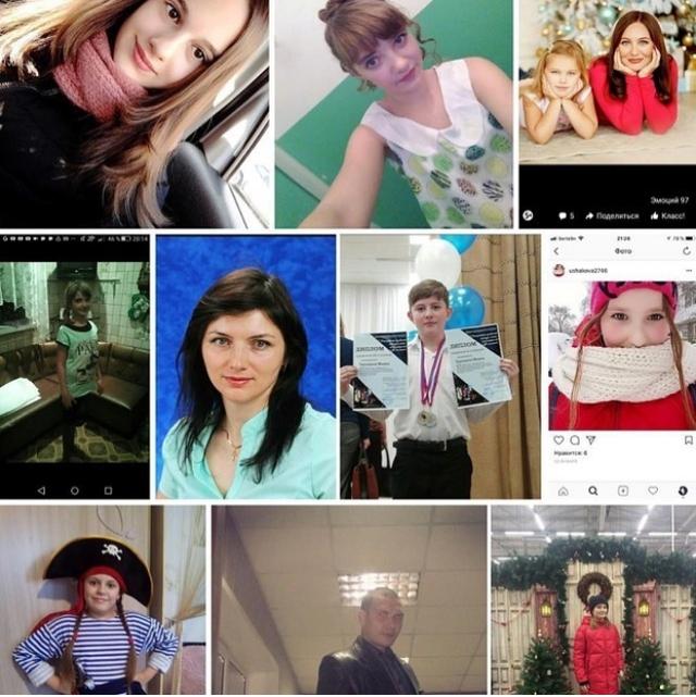 Hình ảnh một số nạn nhân vụ hỏa hoạn tại Nga (Ảnh: RT)