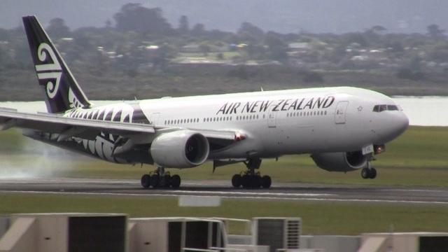 Một máy bay của hãng Air New Zealand (Ảnh minh họa: Youtube)