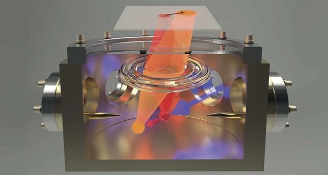 Một nguyên tử có thể đo lực điện từ siêu nhỏ - 1