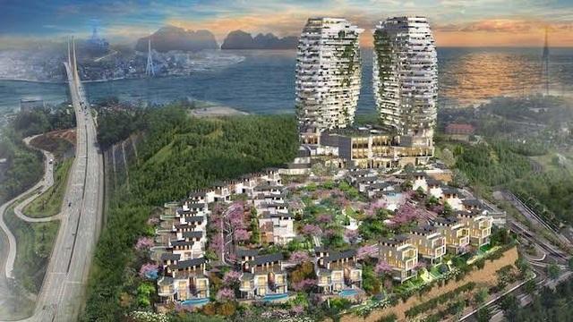 Kiến trúc kết hợp giữa hiện đại và Á Đông là điểm nhấn khác biệt các nhà đầu tư tìm kiếm tại Hạ Long