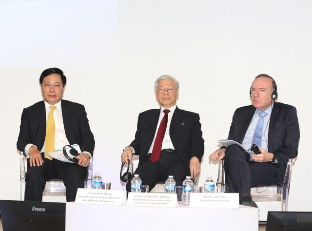 Tổng Bí thư Nguyễn Phú Trọng dự cuộc gặp gỡ