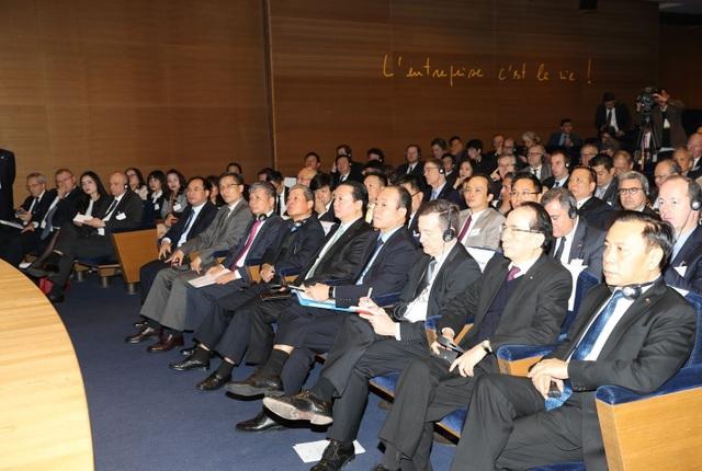 Các đại biểu dự buổi gặp