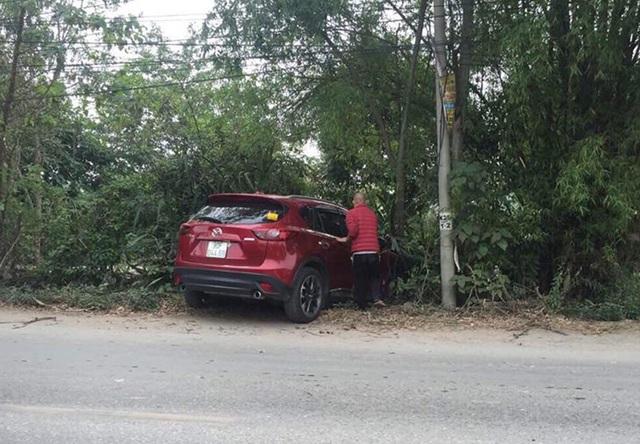 Hiện trường vụ tai nạn. (Ảnh: CTV).