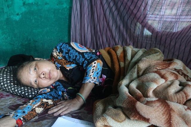 """Bà Lê Thị Trúc đang mang """"án tử"""" với căn bệnh ung thư phổi"""