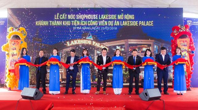 Lễ khánh thành khu tiện ích công viên dự án Lakeside Palace đã diễn ra thành công.