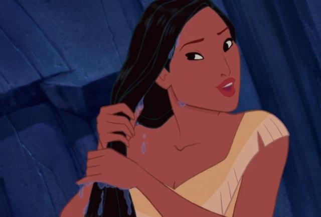 Nàng Pocahontas.