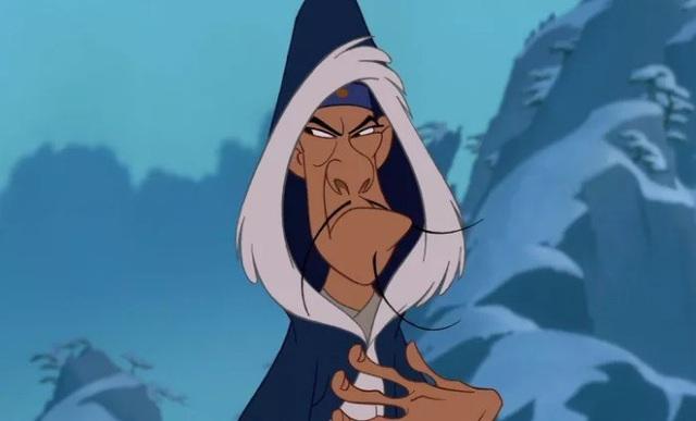 """Nhưng nhân vật phản diện thì thường có móng tay, như nhân vật này trong """"Mộc Lan""""."""