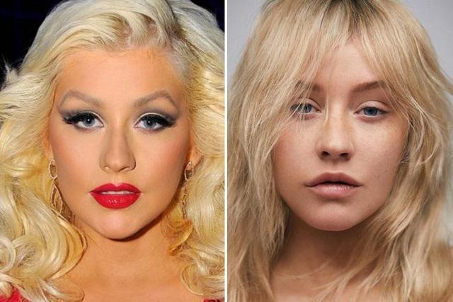 Nữ ca sĩ Christina Aguilera (37 tuổi) mới đây đã gây sửng sốt khi để mặt mộc xuất hiện trên trang bìa tạp chí.