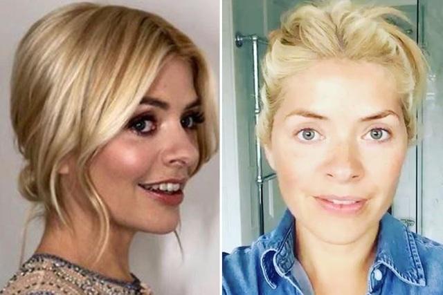Người dẫn chương trình truyền hình Anh Holly Willoughby (37 tuổi).