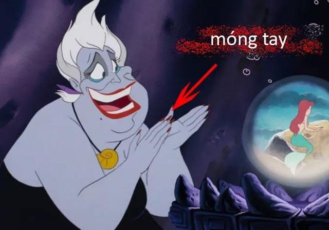 """Phù thủy Ursula trong """"Nàng tiên cá""""."""