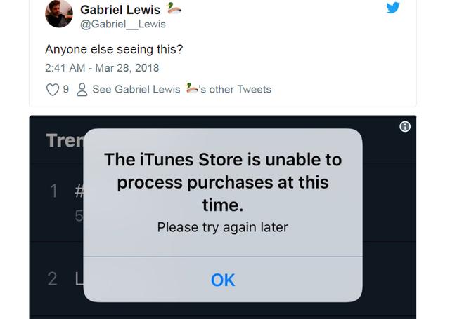 App Store bất ngờ ngừng hoạt động - 1
