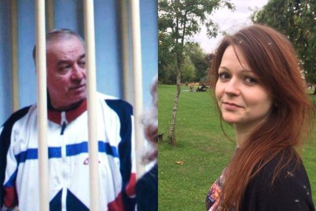 Cựu điệp viên Nga Sergei Skripal và con gái Yulia nghi bị đầu độc tại Anh hôm 4/3. (Ảnh: ABC News)