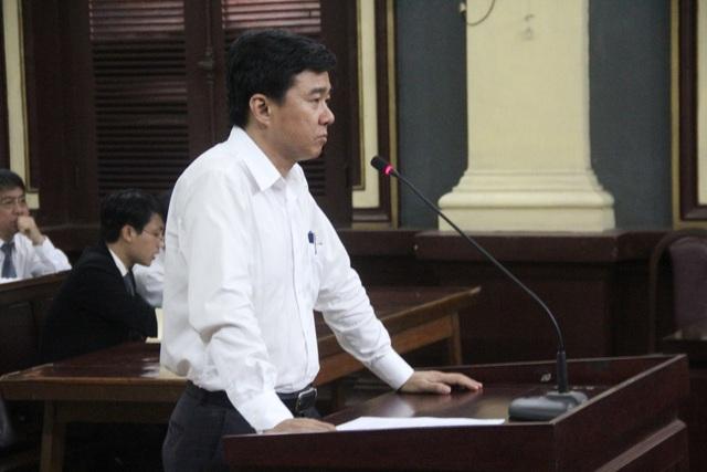 Bị cáo Lê Quang Trí kháng cáo kêu oan.