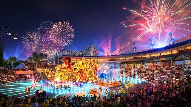 The Arena quy tụ đầy đủ các dịch vụ vui chơi, giải trí, nghỉ dưỡng