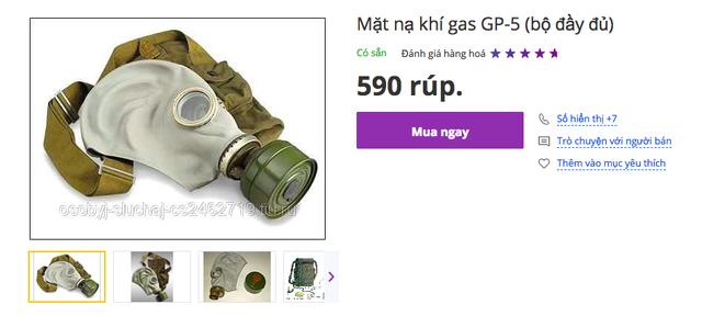 """Sau thảm hoạ cháy chung cư, nhiều người """"đi săn"""" mặt nạ phòng độc của Nga - 6"""