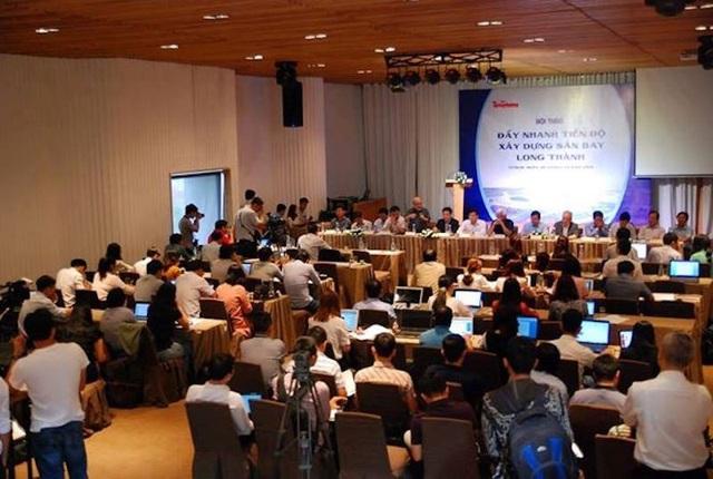 Sáng 28/3, tại TPHCM đã diễn ra hội thảo Đẩy nhanh tiến độ sân bay Long Thành.