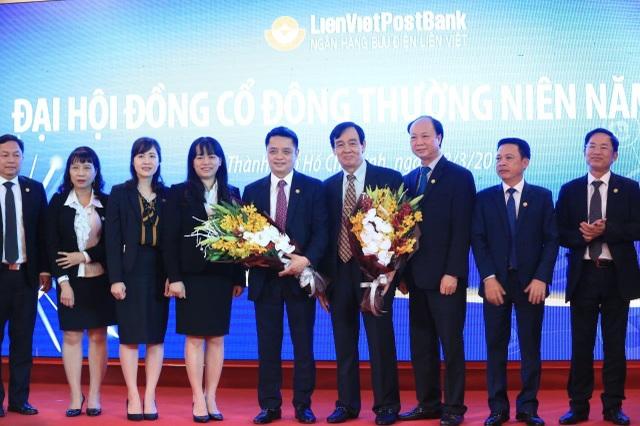 Đại hội đồng cổ đông thường niên năm 2018 lần này đã bầu ra thành viên Hội đồng Quản trị (HĐQT) và Ban kiểm soát (BKS) nhiệm kỳ 2018 - 2023, là nhiệm kỳ thứ 3 của HĐQT LienVietPostBank kể từ năm thành lập ngân hàng 2008.