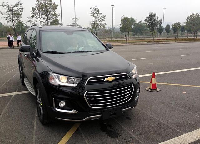 Mẫu crossover 7 chỗ Chevrolet Captiva vẫn giữ nguyên mức hỗ trợ 20 triệu đồng, duy trì giá bán là 859 triệu đồng