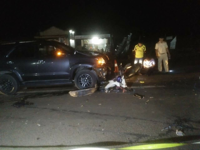 Hiện trường vụ tai nạn khiến 4 người thương vong