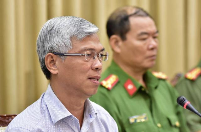 Ông Võ Văn Hoan – Chánh Văn phòng UBND TP HCM.
