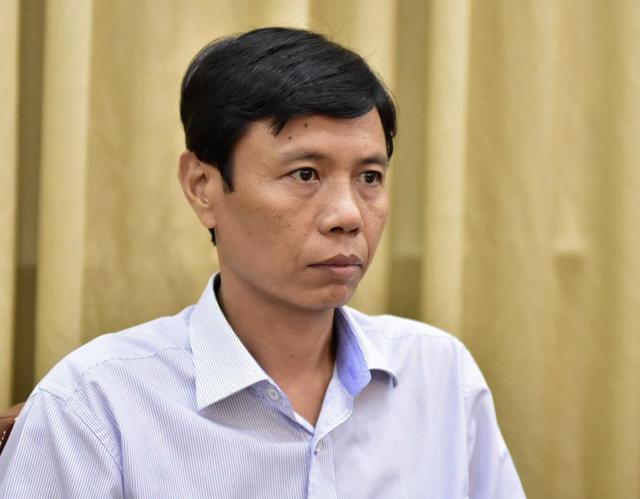 Ông Nguyễn Bá Thành, Phó giám đốc Sở Xây dựng TPHCM