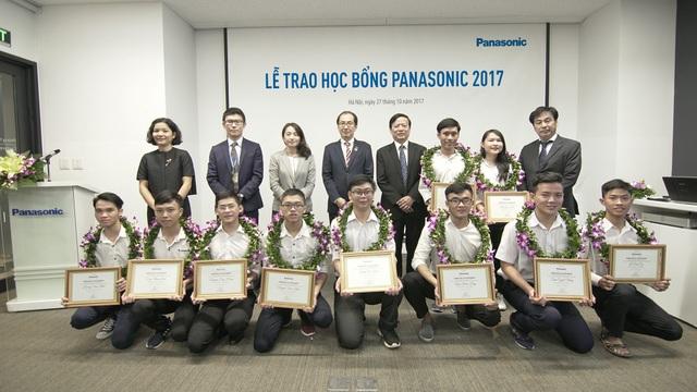 Lễ trao học bổng Panasonic 2017.
