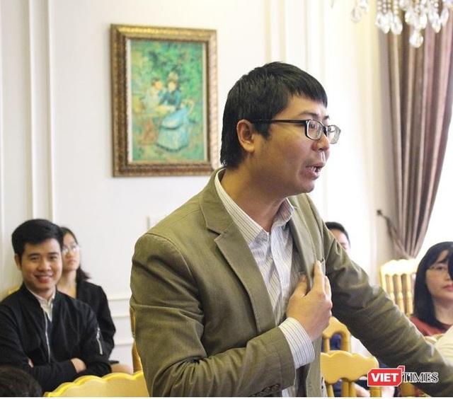 Ông Nguyễn Quang Đồng -- Viện trưởng Viện Nghiên cứu Chính sách và Phát triển truyền thông (IPS).
